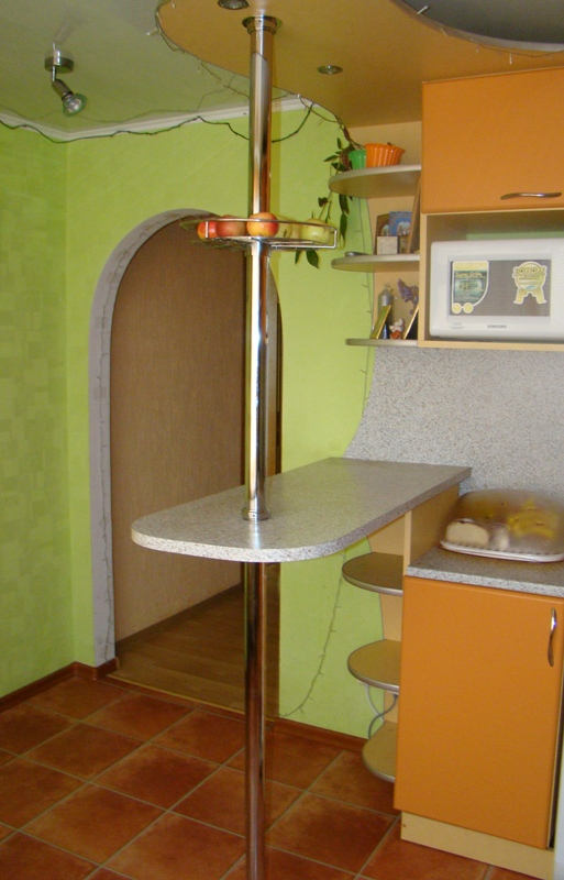 Барная стойка на кухне своими руками фото в хрущевке 101