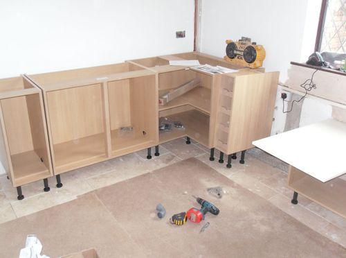 Монтаж кухонной мебели своими руками 198